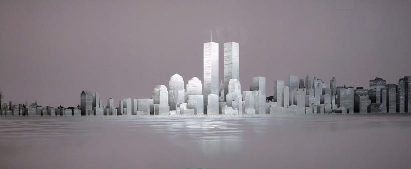 "Mural ""Skyline New York"" 0"