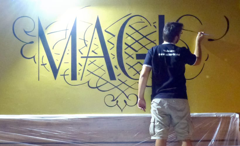 Pintura decorativa Magic Pub 0