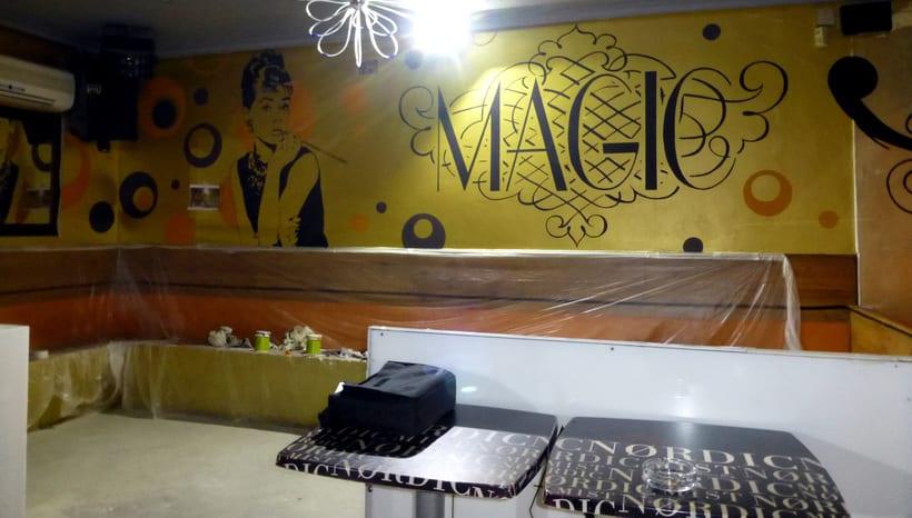 Pintura decorativa Magic Pub 1
