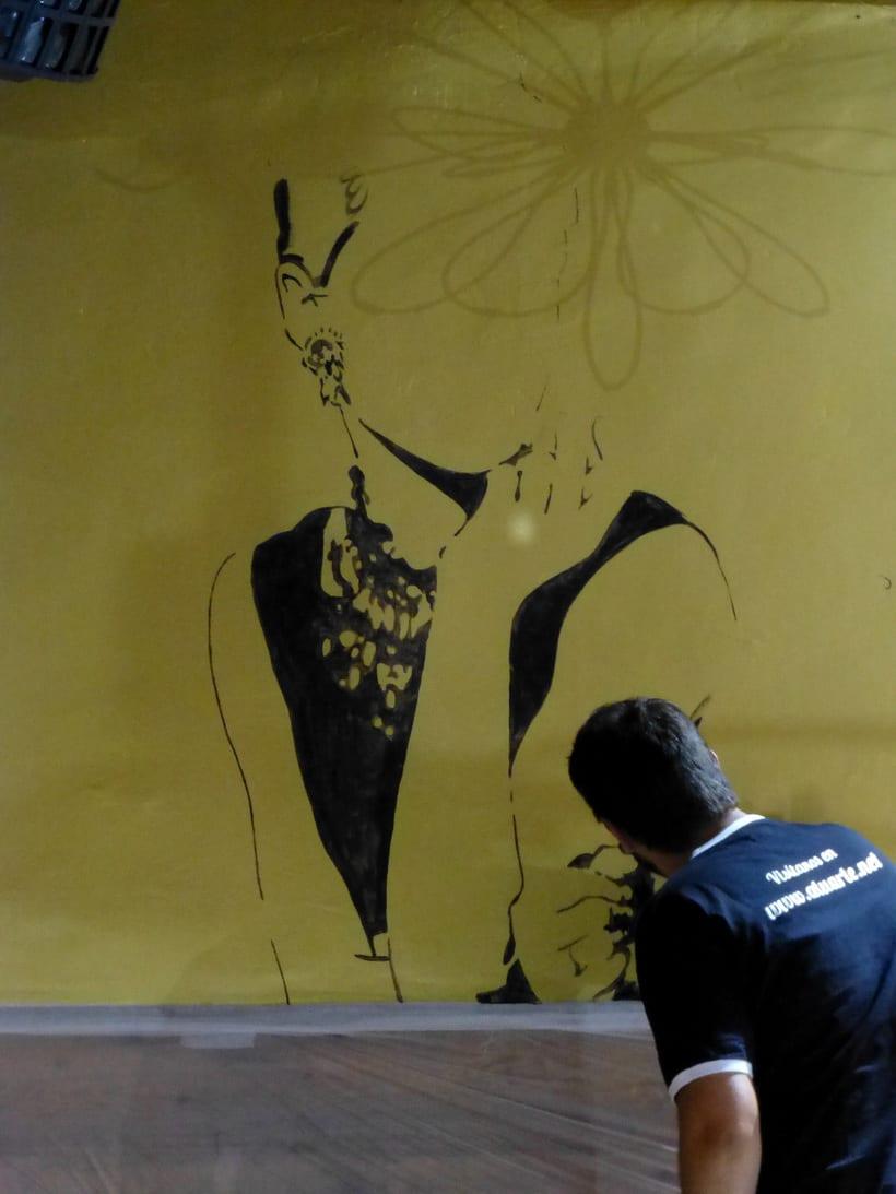Pintura decorativa Magic Pub 3