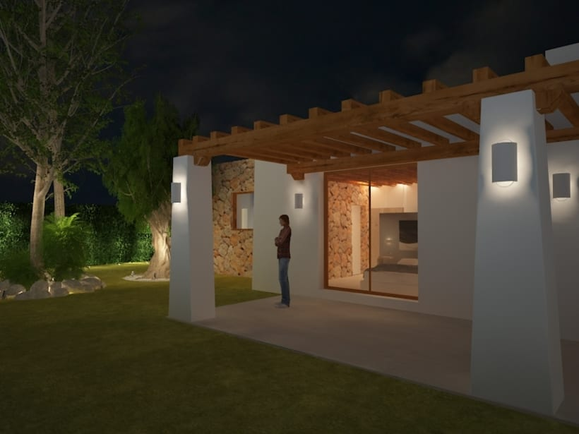 Proyectos de interiores y exteriores con 3d max y Vray  9
