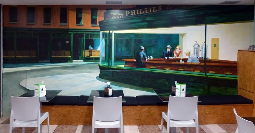 Mural Cafetería Bako´s Music  5