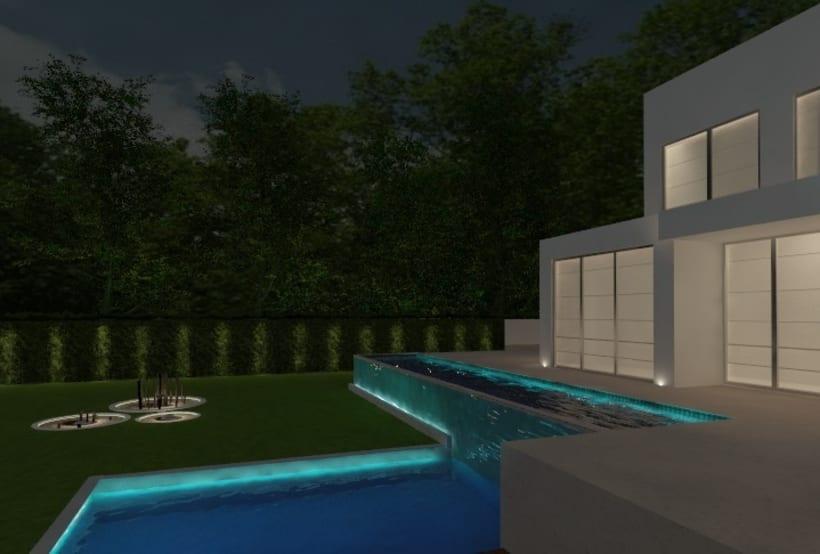 Proyectos de interiores y exteriores con 3d max y Vray  13