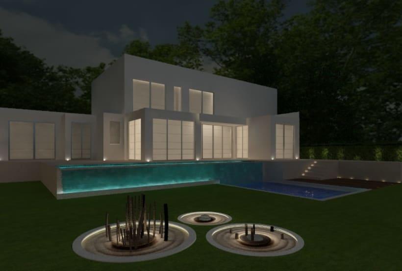 Proyectos de interiores y exteriores con 3d max y Vray  14