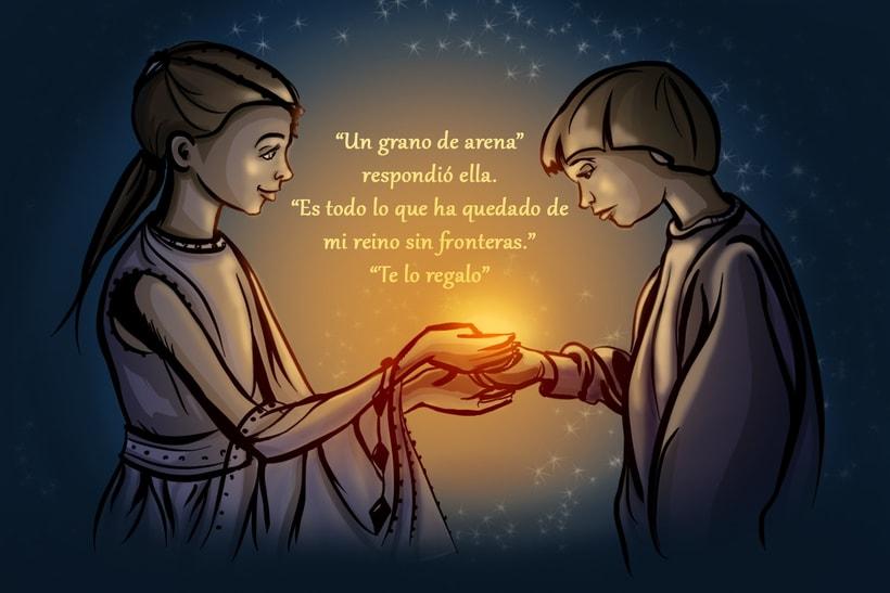 The Princess and Bastian 0