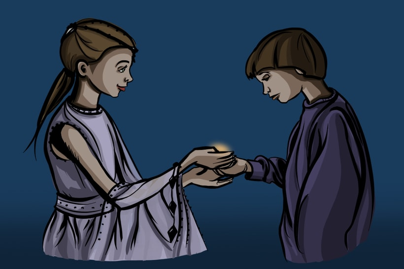 The Princess and Bastian 2