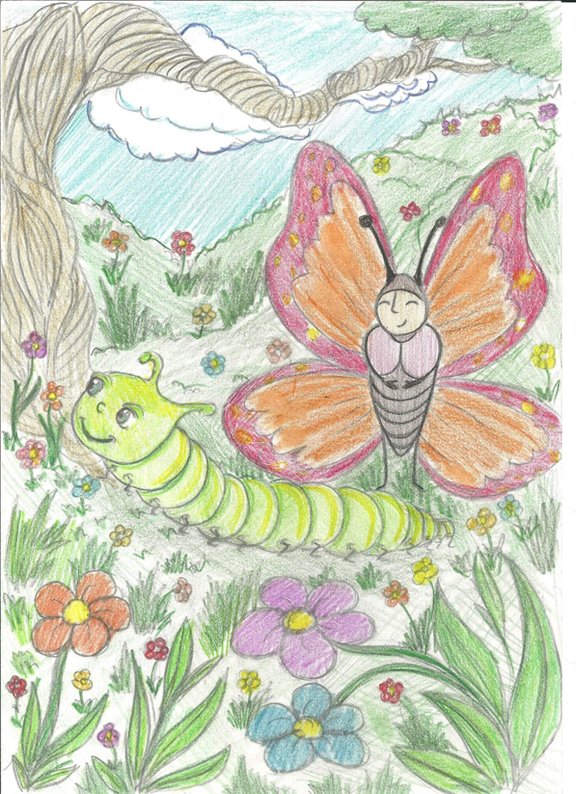 The Butterfly and The Caterpillar 2