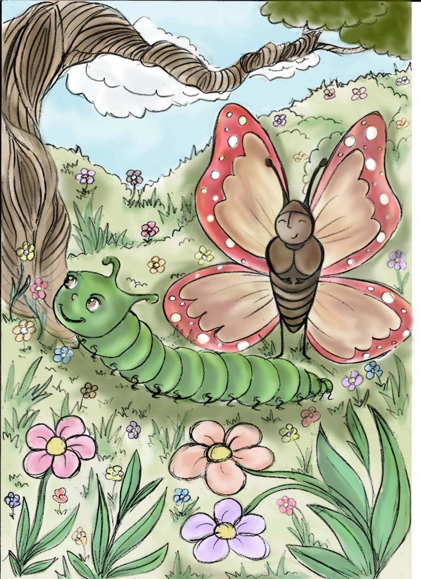 The Butterfly and The Caterpillar 0