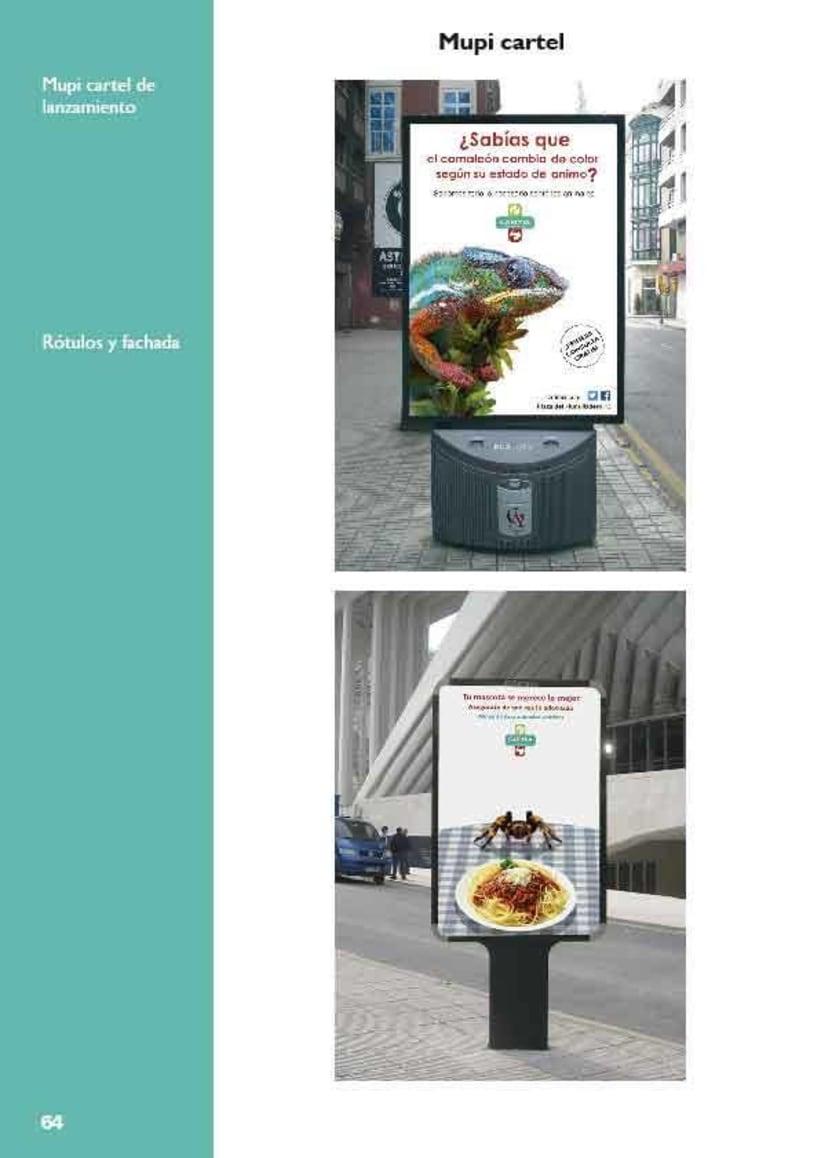 Manual de identidad corporativa de la clínica veterinaria Carimia 6
