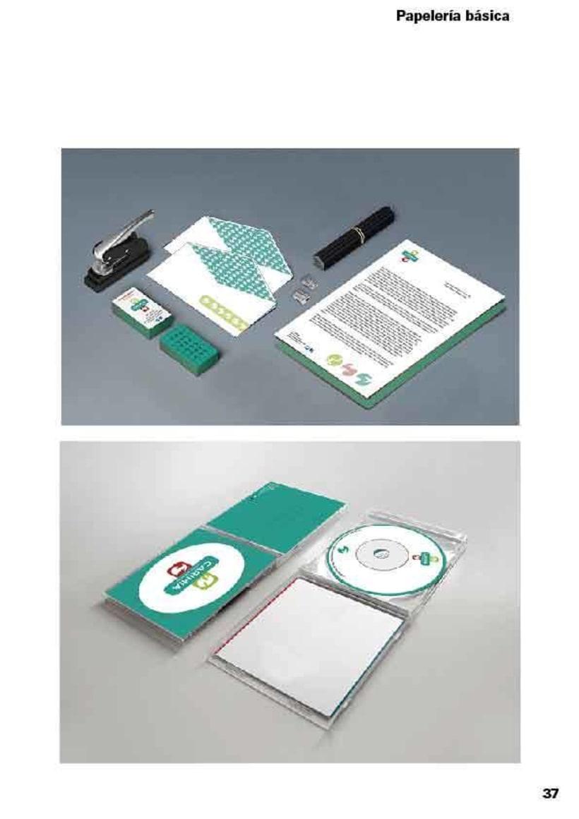 Manual de identidad corporativa de la clínica veterinaria Carimia 10