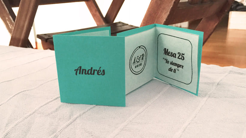 Boda, regalos, diseño gráfico y decoración 14