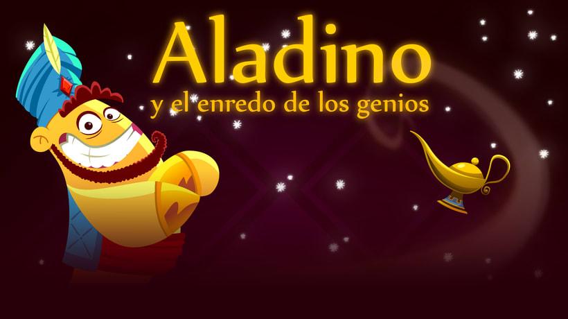 Aladino y el enredo de los genios 0