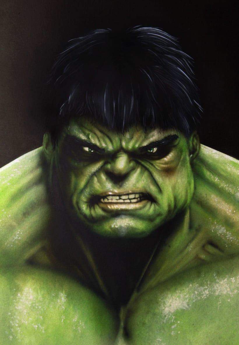 """Lámina """"Hulk"""" -1"""