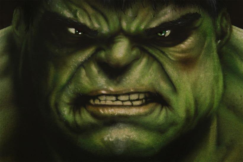 """Lámina """"Hulk"""" 0"""