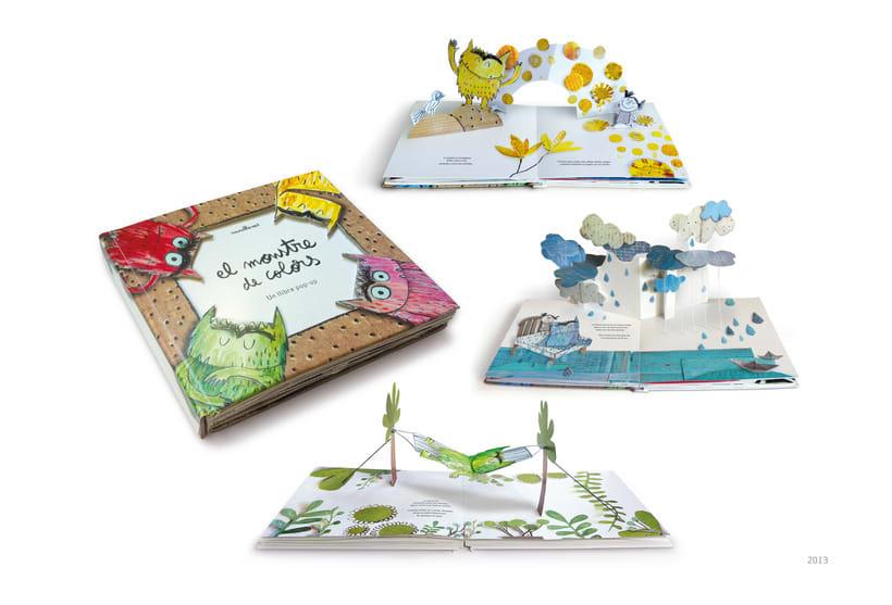 Diseño e Ingenieria de papel en libro pop-up -1