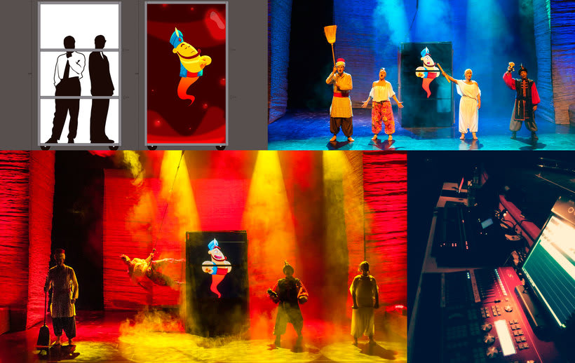 Aladino y el enredo de los genios 12