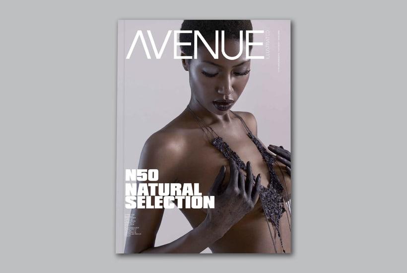 Avenue Illustrated Magazine N50 -1