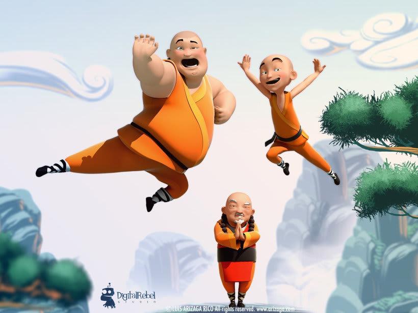 Shaolin animated shortfilm -1