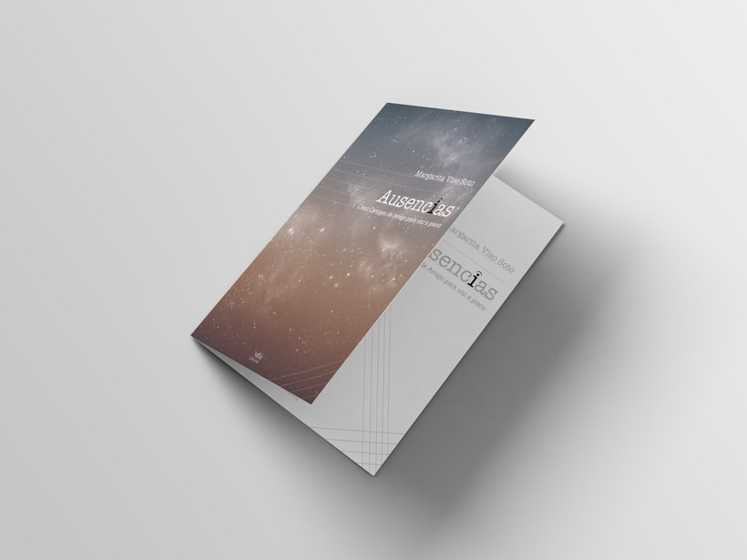 "Libreto partituras ""Ausencias"" Margarita Viso. Proyecto editorial 1"
