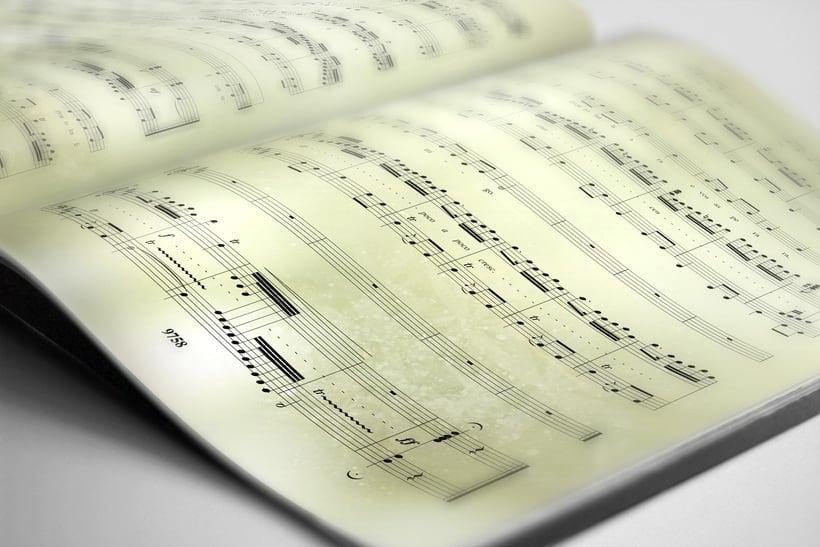 "Libreto partituras ""Ausencias"" Margarita Viso. Proyecto editorial 7"