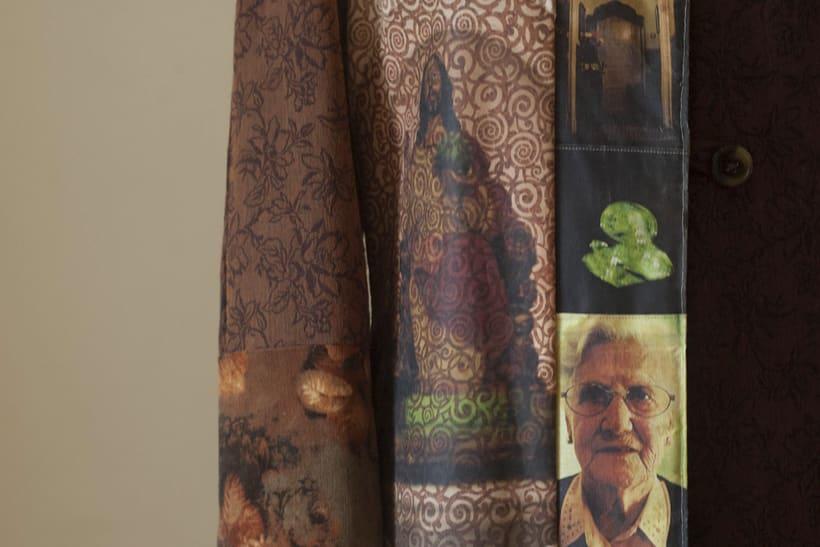 Diseño de vestuario - Abrigo homenaje 3