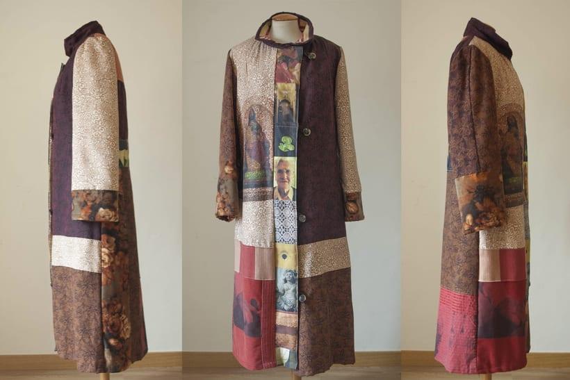 Diseño de vestuario - Abrigo homenaje 1