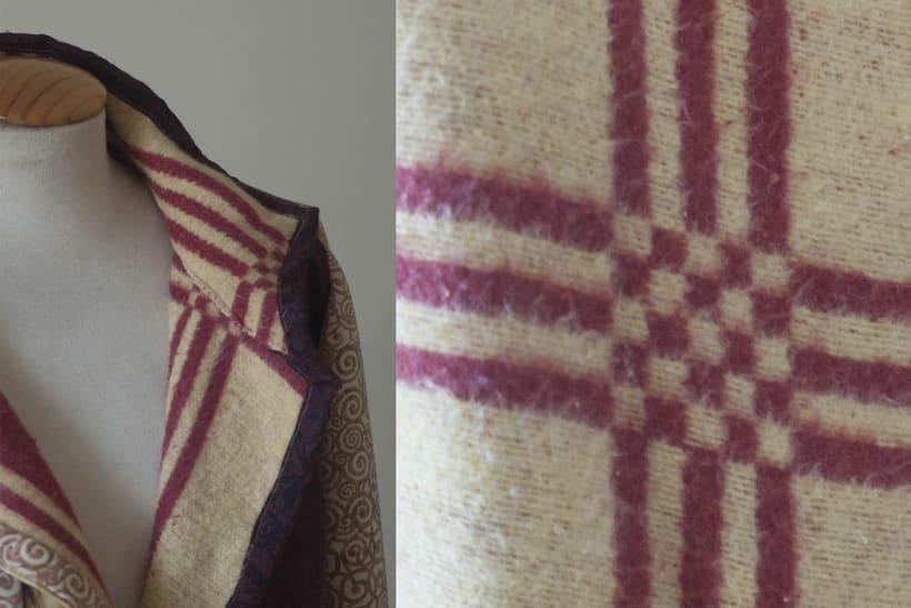 Diseño de vestuario - Abrigo homenaje 2