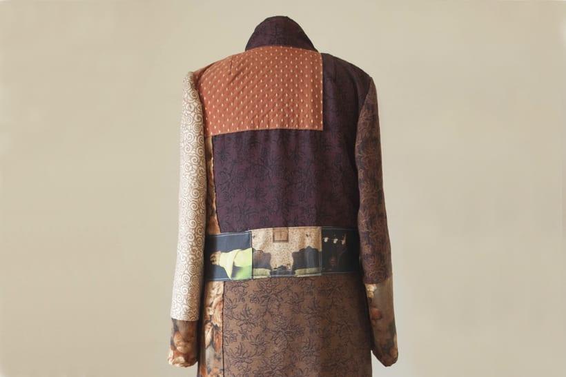 Diseño de vestuario - Abrigo homenaje 6