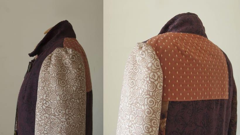 Diseño de vestuario - Abrigo homenaje 8