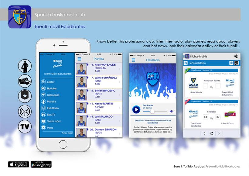 UI, varias Apps 2