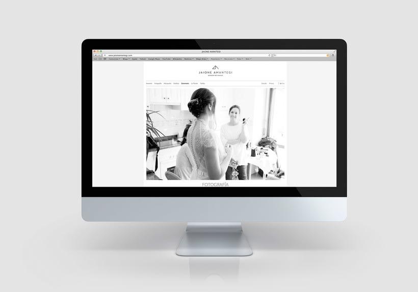 Jaione amantegi, sitio web 4