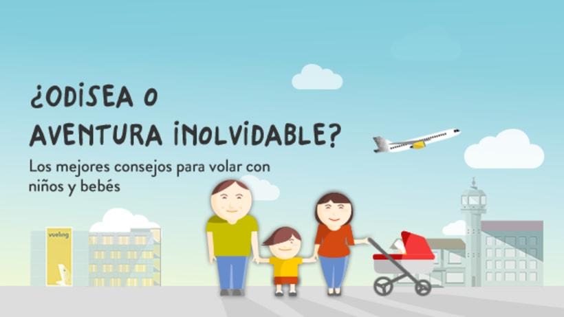 """Landing """"Consejos para volar en familia"""" - Vueling.com 0"""