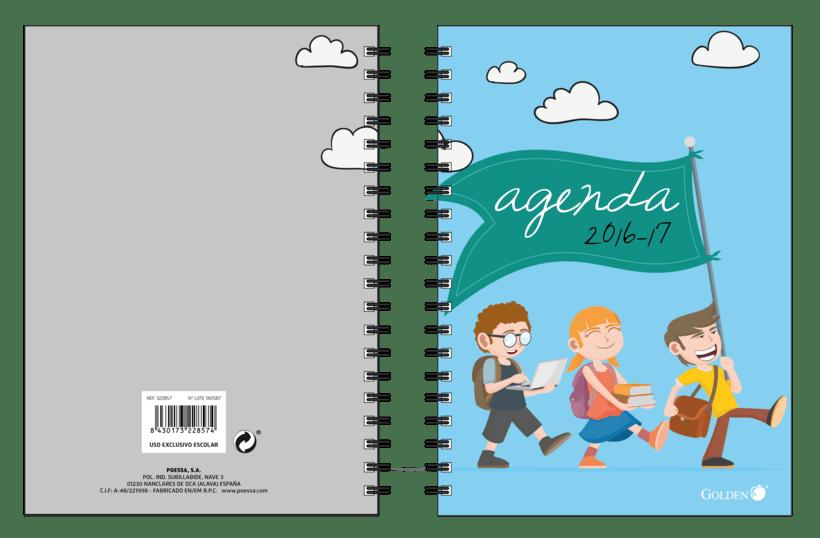 Diseño de Agendas Escolares 0