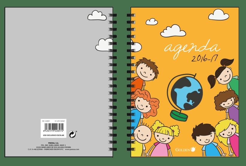 Diseño de Agendas Escolares 1