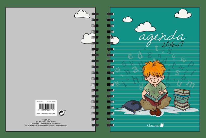 Diseño de Agendas Escolares 2