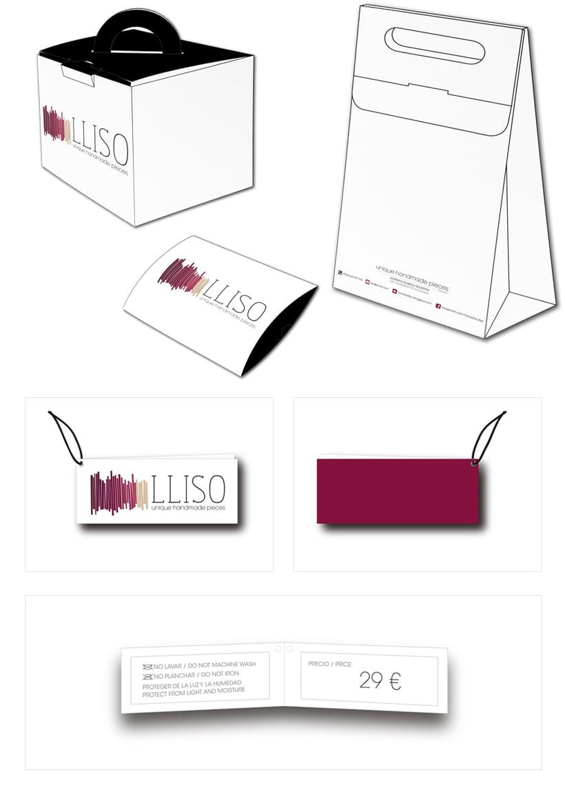 LLISO: diseño de marca y manual de identidad corporativa