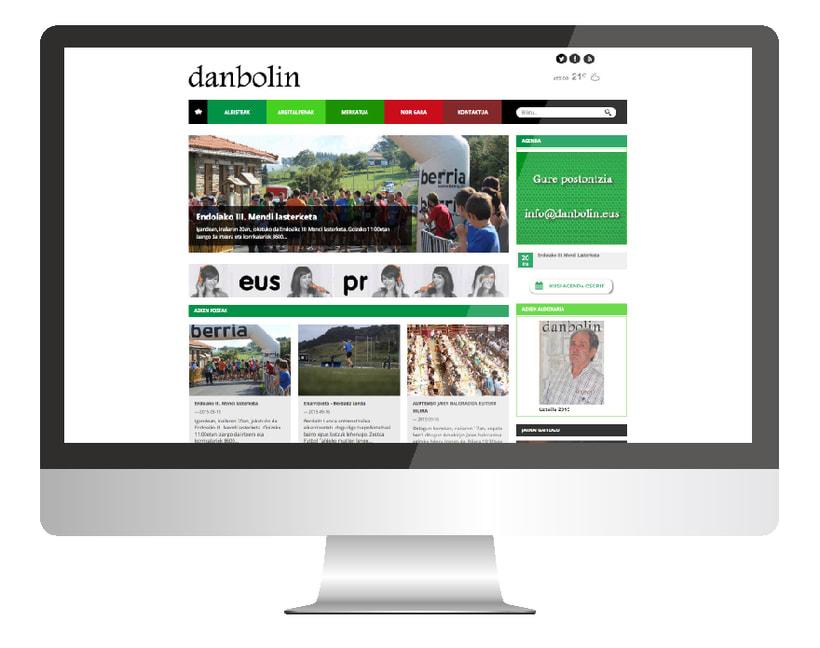 Danbolin: diseño web -1