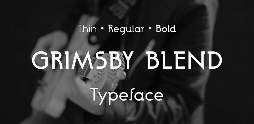 Grimsby Blend Typefamily 0