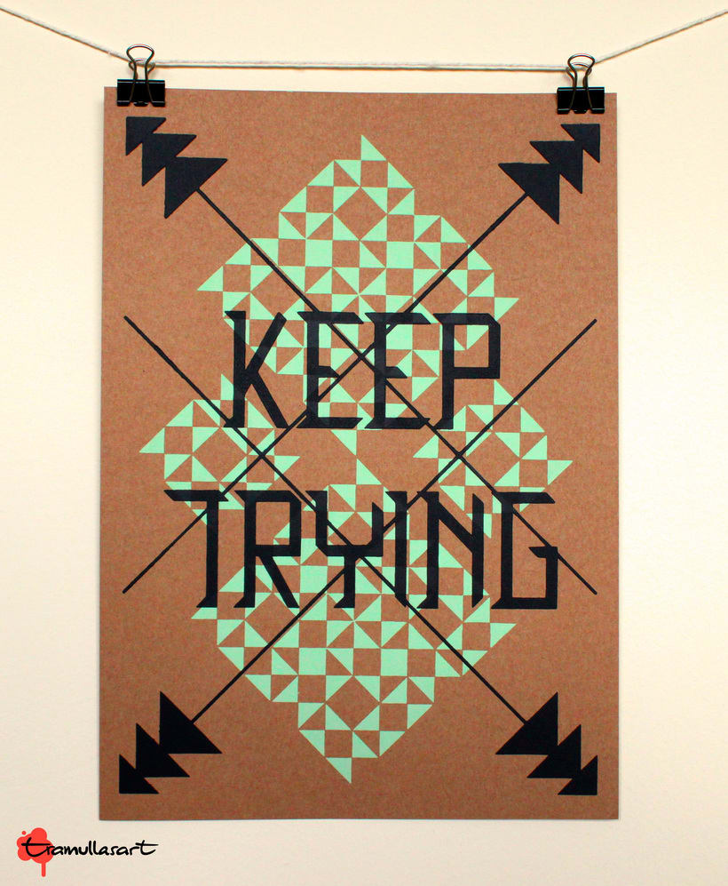 Keep Trying -1