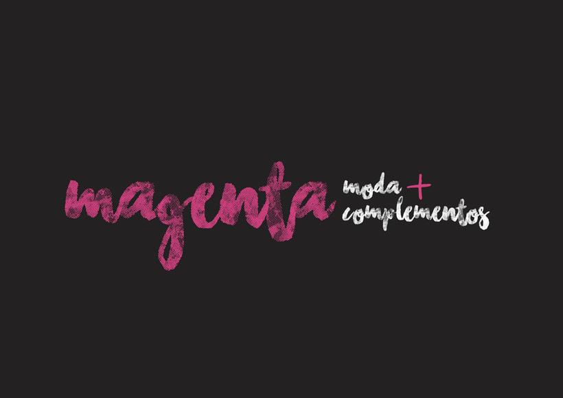 Magenta Moda -1