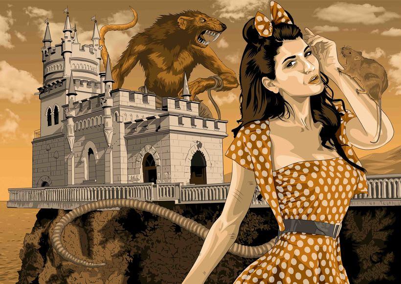 Sinister Princesses.  12