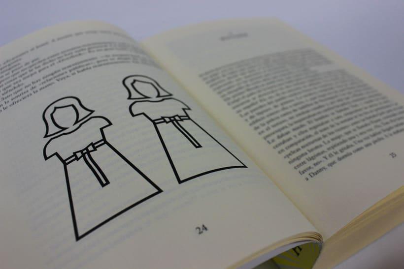 El resplandor (diseño, ilustración y maquetación) 4