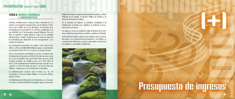 Presupuestos de Castilla y León 2005 7