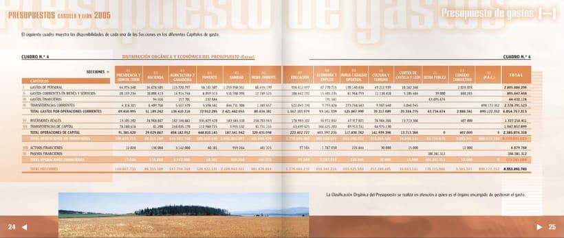 Presupuestos de Castilla y León 2005 9