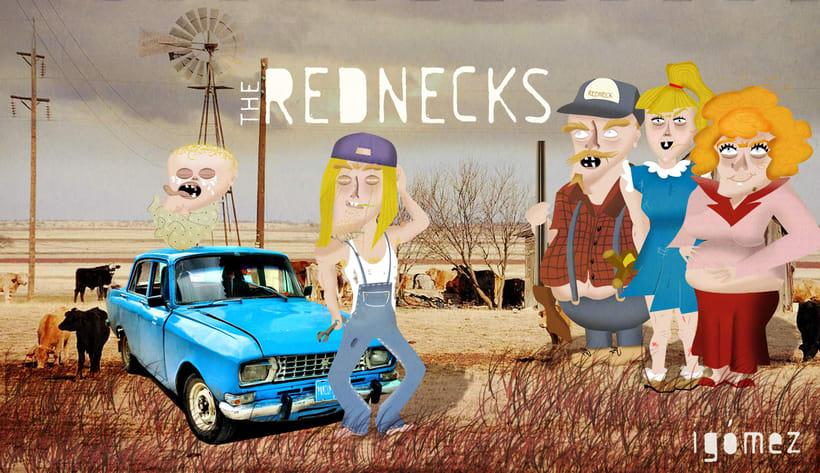 THE REDNECKS (Mi Proyecto del curso Diseño y Creación de Personajes) 0