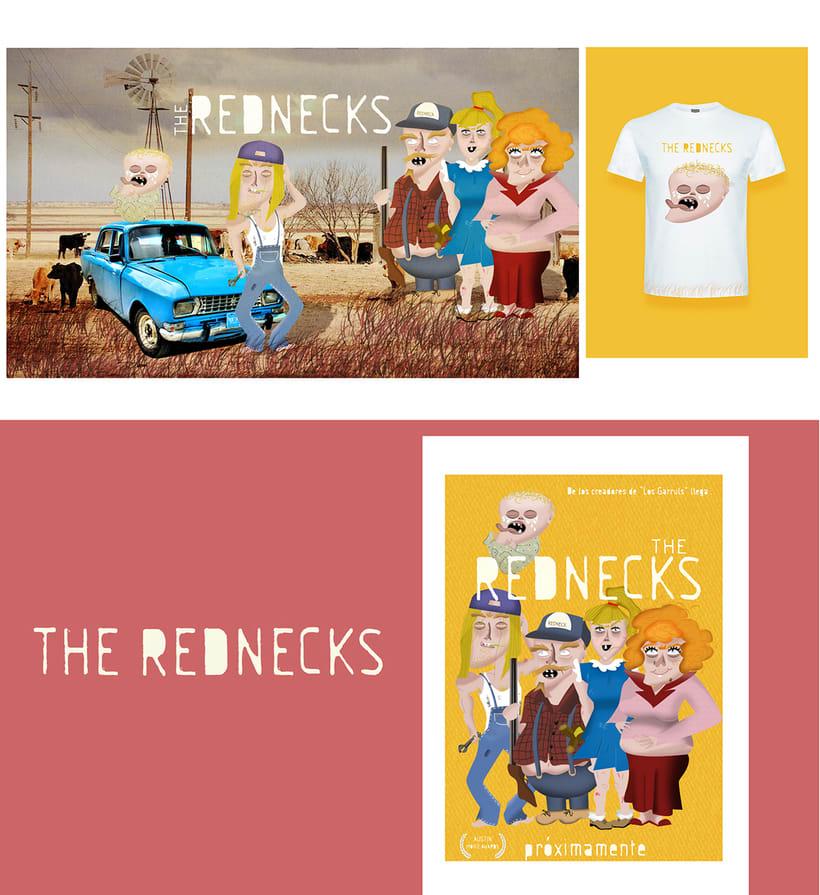 THE REDNECKS (Mi Proyecto del curso Diseño y Creación de Personajes) 2