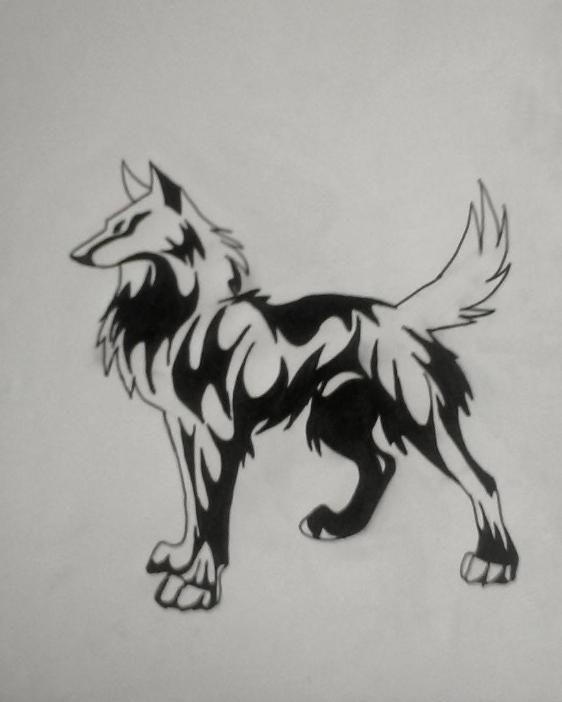 lobo a manchas  -1