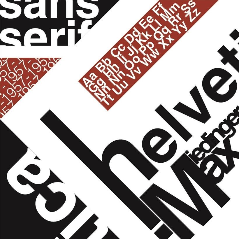 Tipografia Helvetica 0