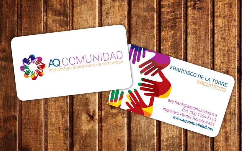 AQ COMUNIDAD: BRANDING PARA DESPACHO DE ARQUITECTURA 1