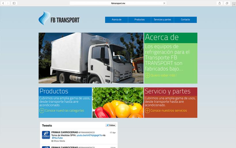 FB TRANSPORT: SITIO WEB -1